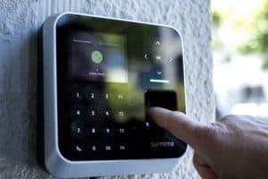 biometric fingerprint reader with PIN pad