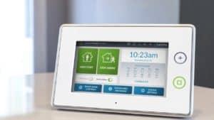 Modern Alarm Keypad
