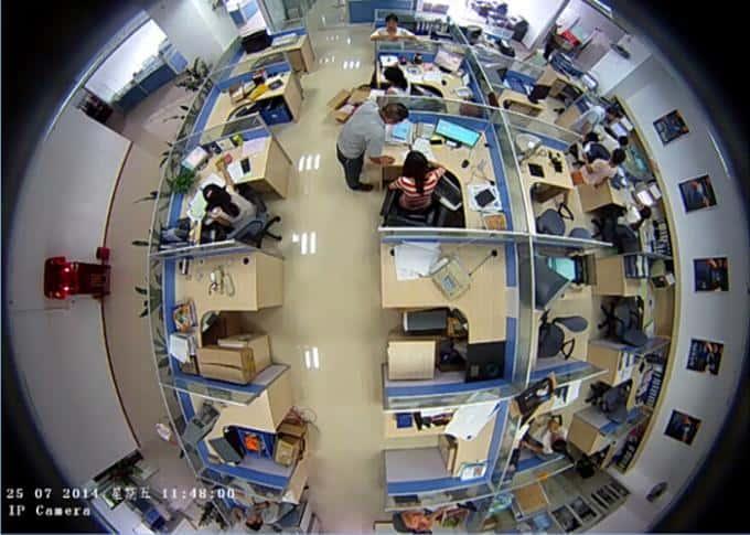 fisheye lens 360