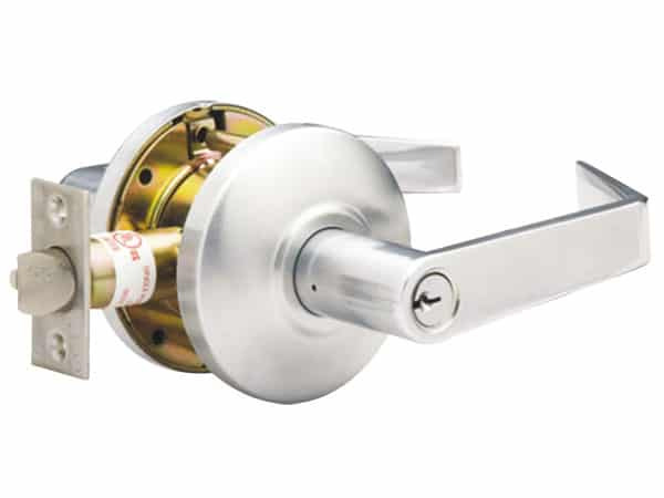 electric cylindrical lock