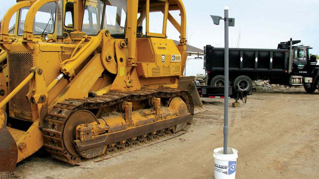 Outdoor Motion Viewer Construction Site