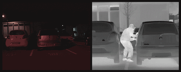 How Security Cameras Get Good Images In Bad Lighting