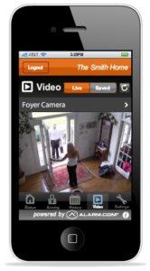 Alarm.com Camera App