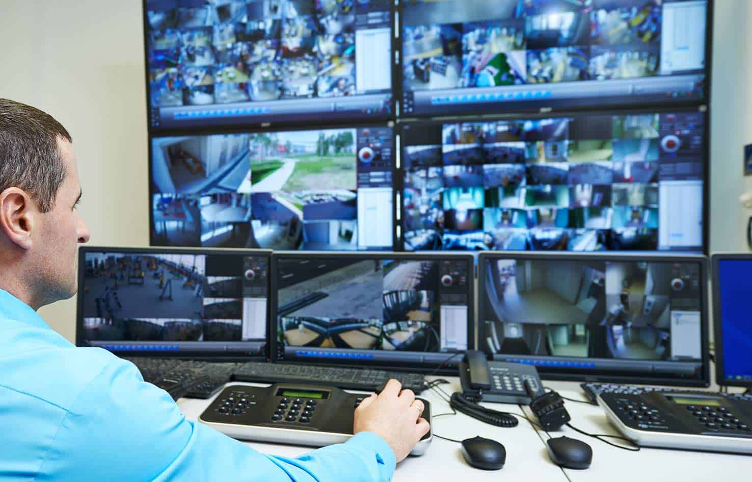 cctv security monitoring
