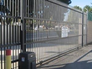driveway gate access control
