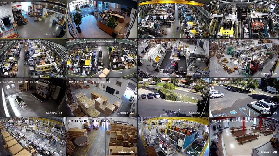 business surveillance system