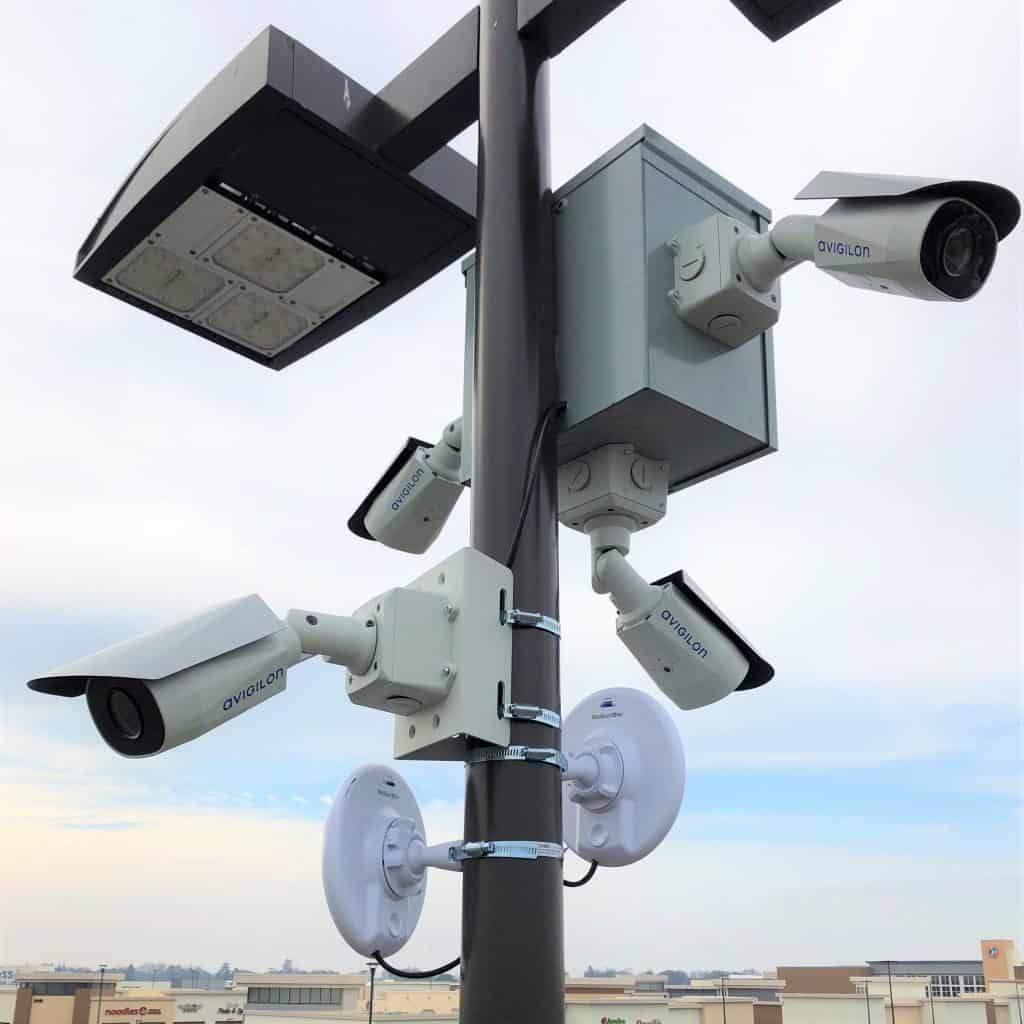 Avigilon Camera cluster