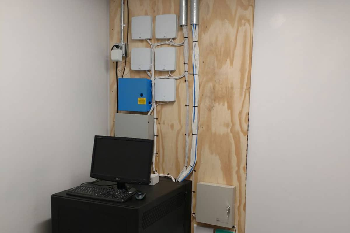 security system server room concord ca