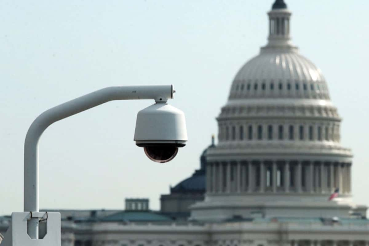 government surveillance camera