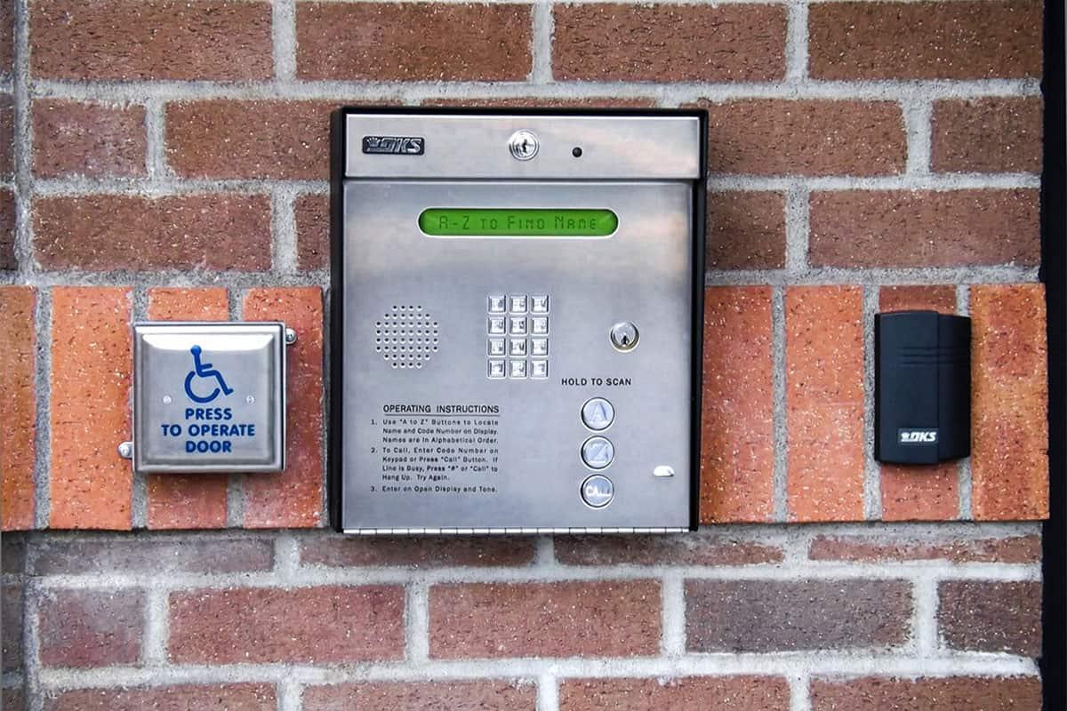 intercom system for apartment building