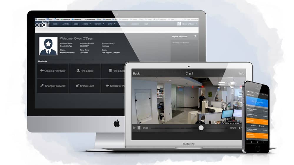 Brivo OnAir Cloud Based Access Control