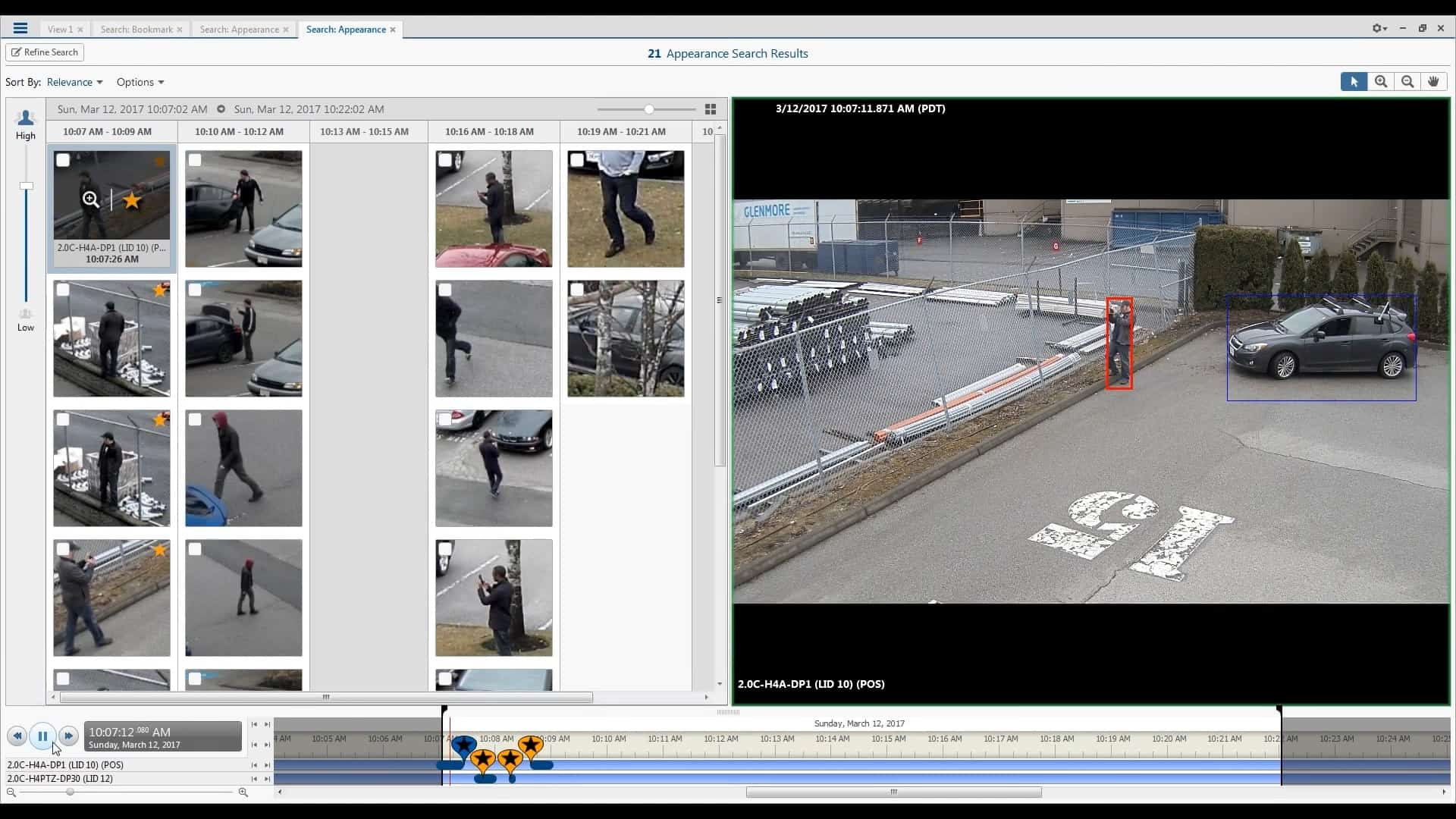 facial recognition cameras for parking lots