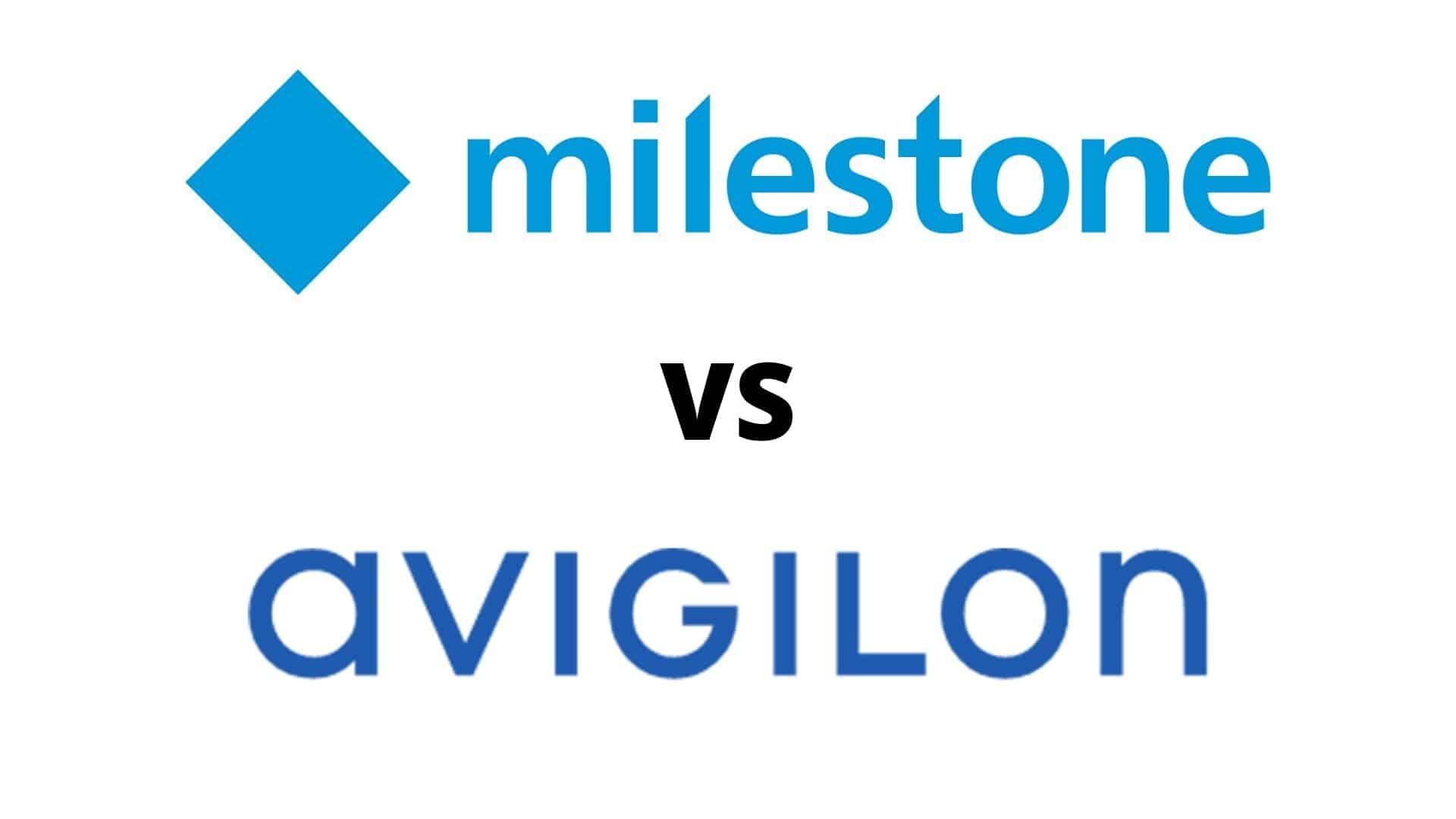 Milestone vs Avigilon