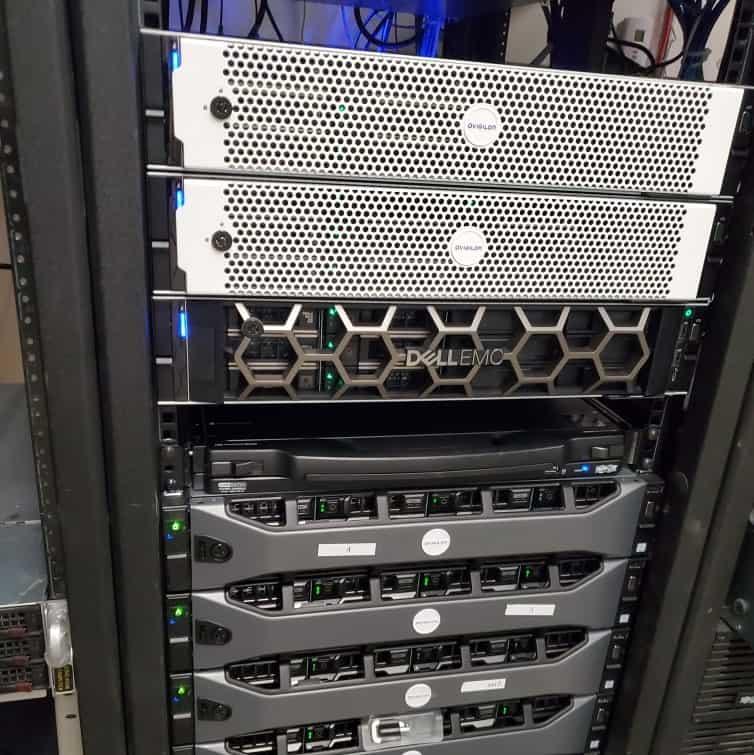 avigilon storage racks