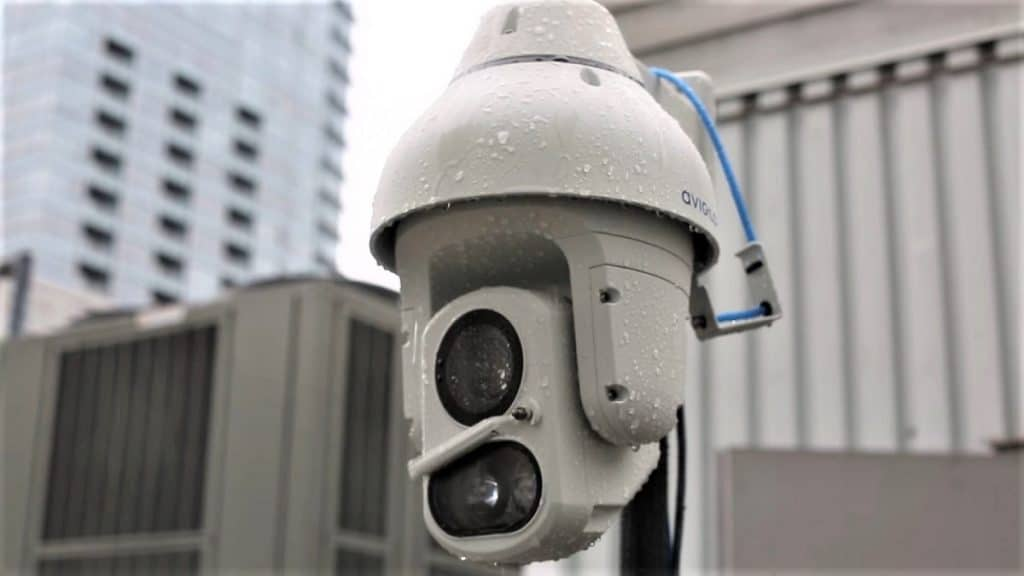 cloud based IP security camera