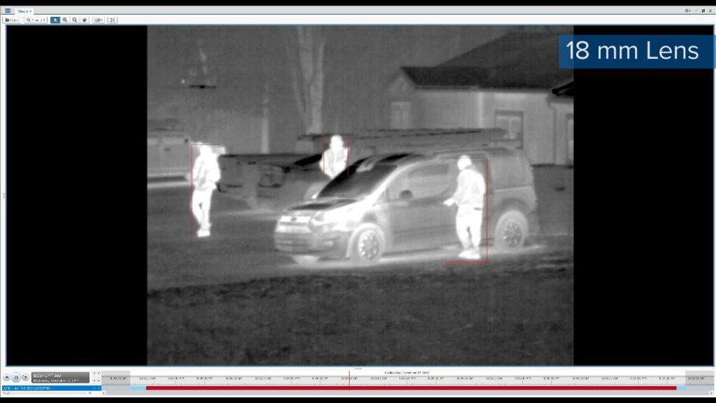 thermal parking lot security cameras
