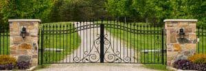 LPR security gate access