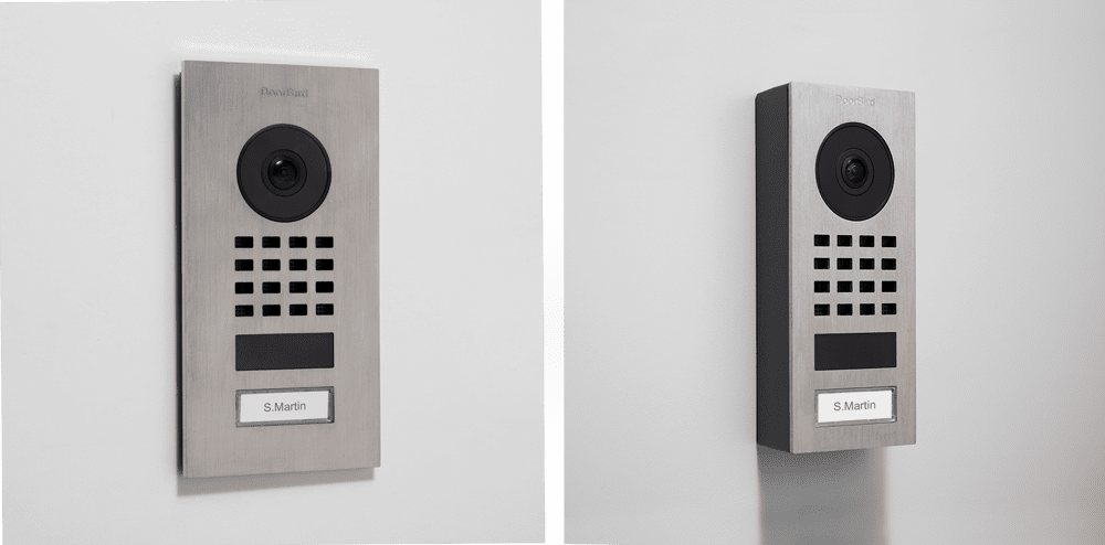 surface mount vs flush mount video intercom