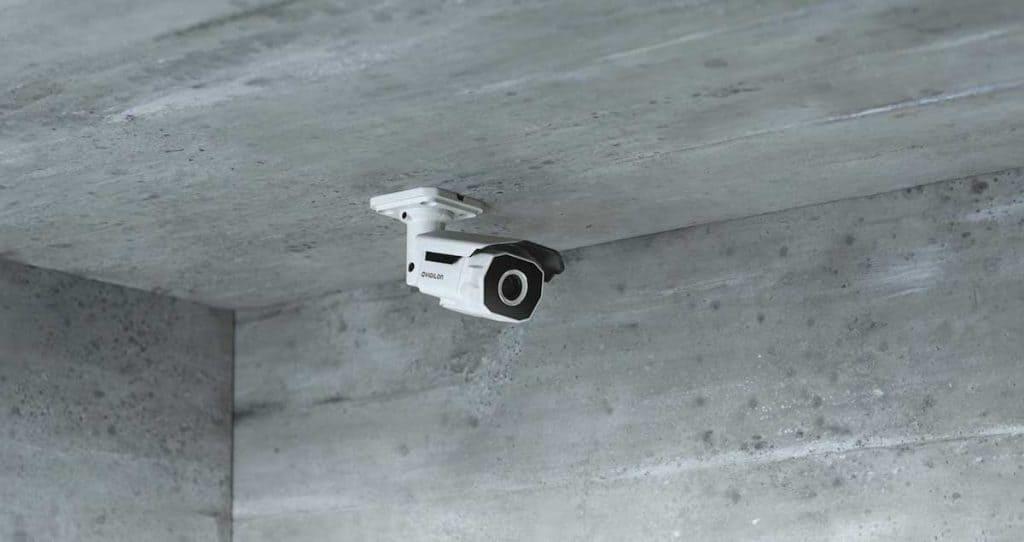 Avigilon license plate camera
