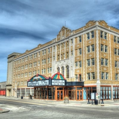 Genesee Theatre in Waukegan Illinois