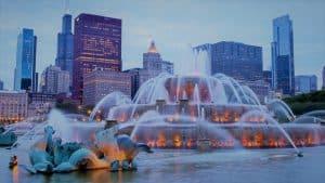 buckingham fountain chicago ilinois