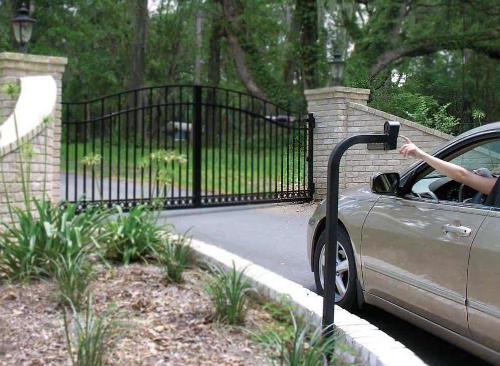HOA gate access control