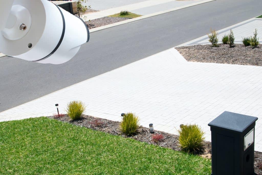 HOA neighborhood security camera