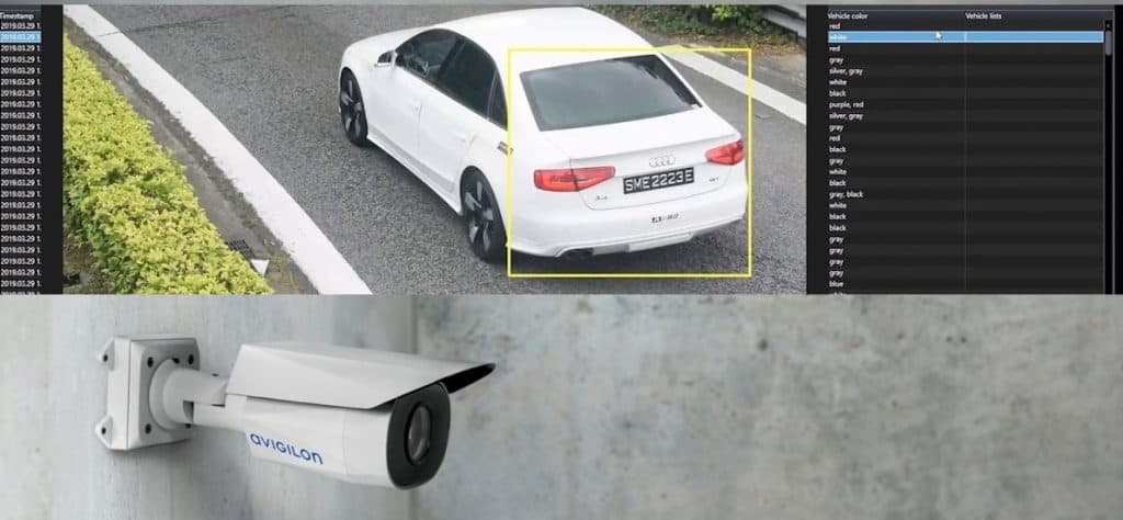 neighborhood license plate camera