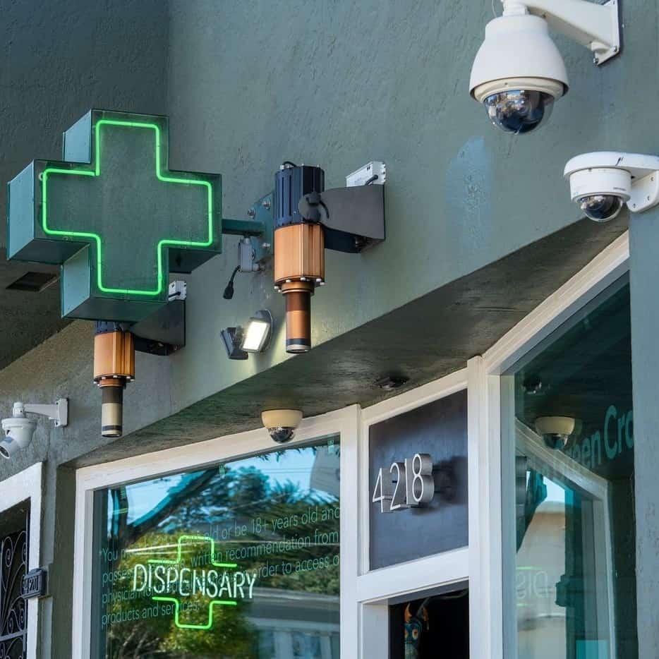 surveillance systems for marijuana dispensaries