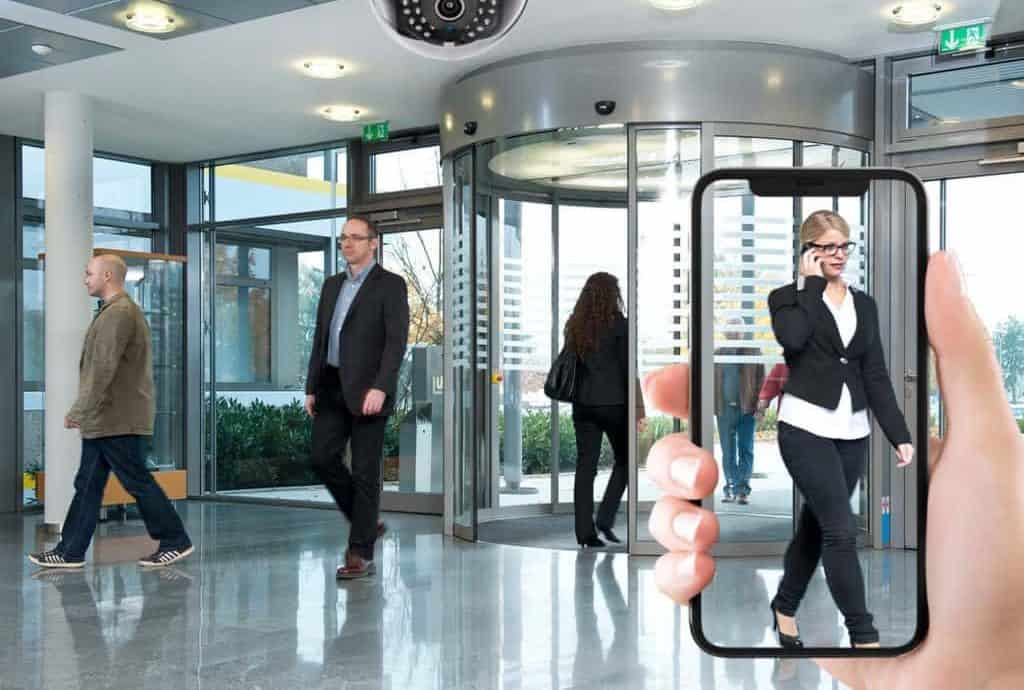 front door security cameras