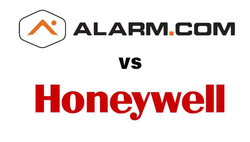 alarm.com vs honeywell
