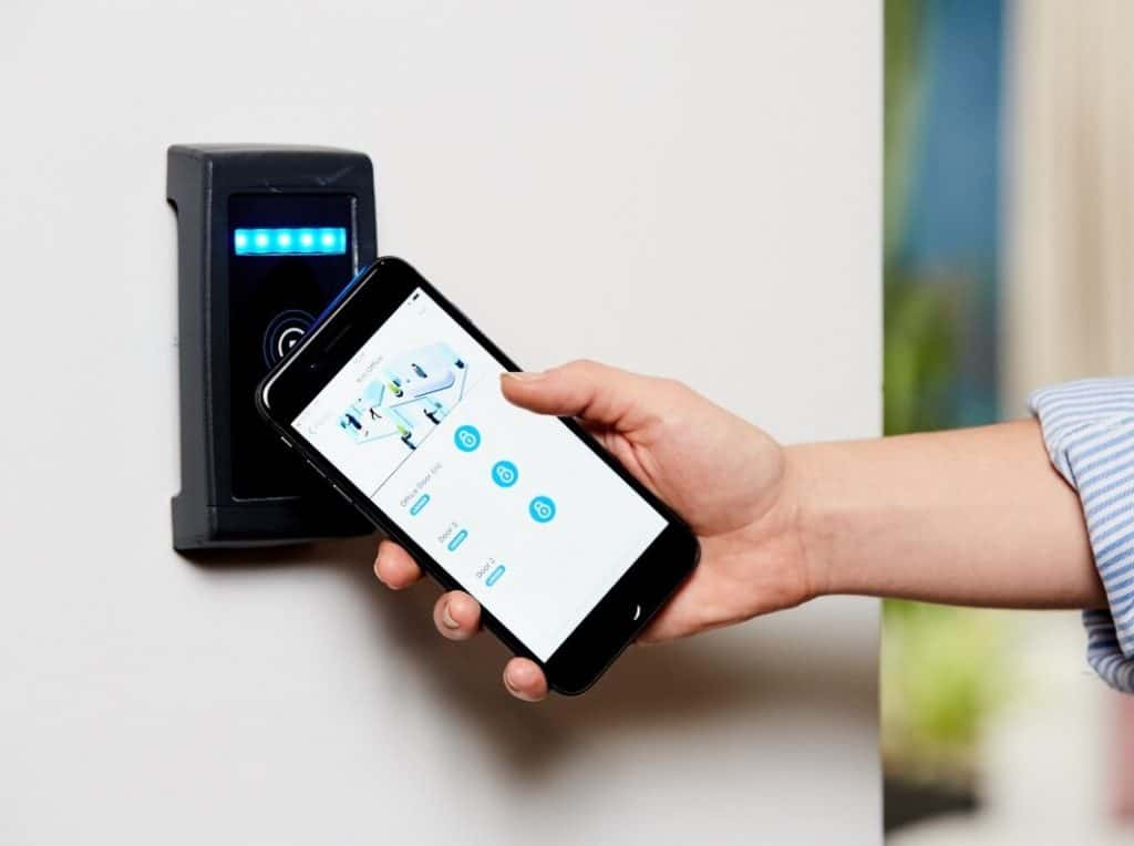 retail security access control system