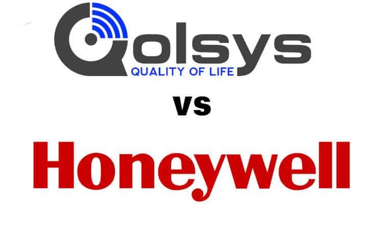 qolsys vs honeywell
