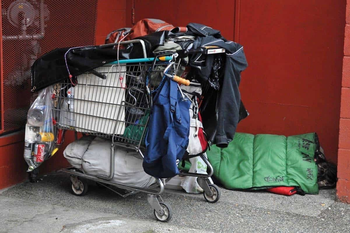 remove homeless from commercial property
