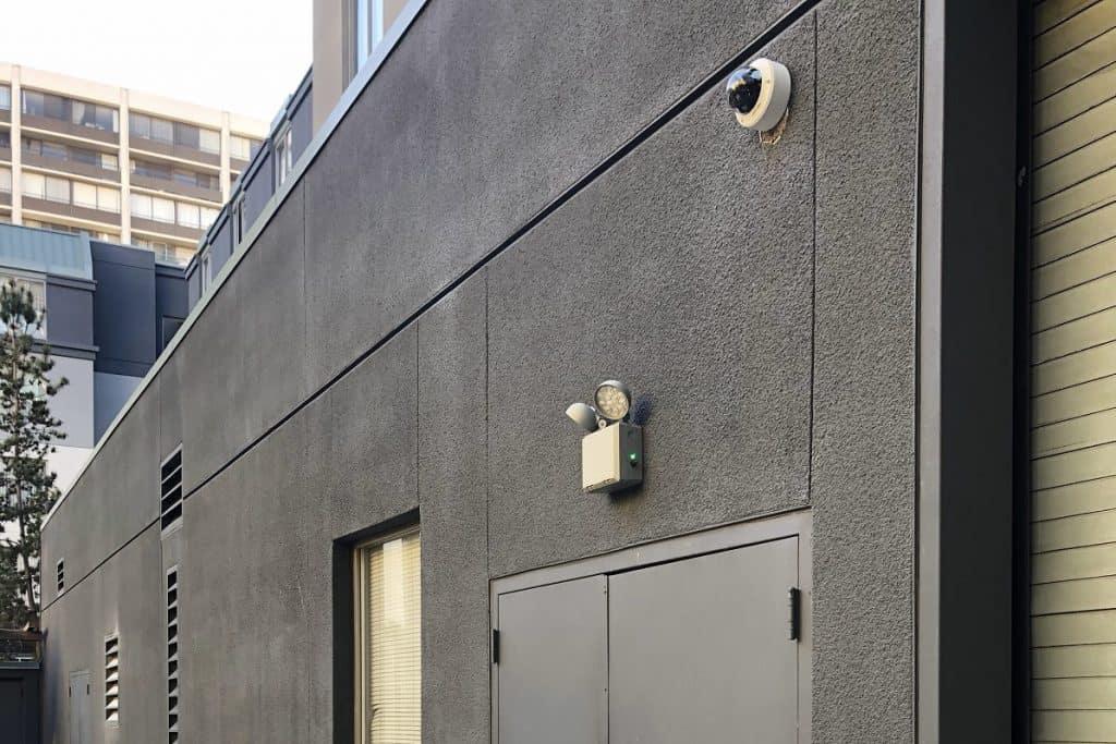 security cameras for building perimeter