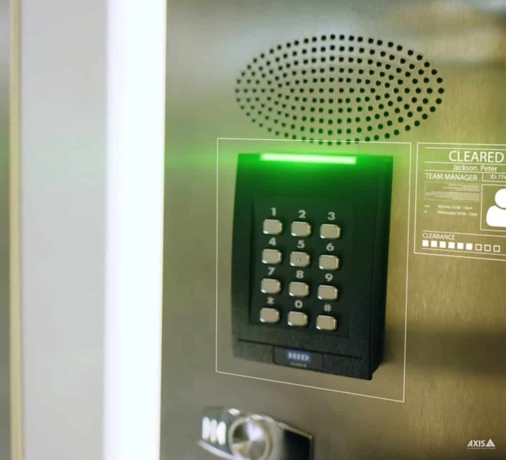 Keypad-Door-Access-Control-Installation