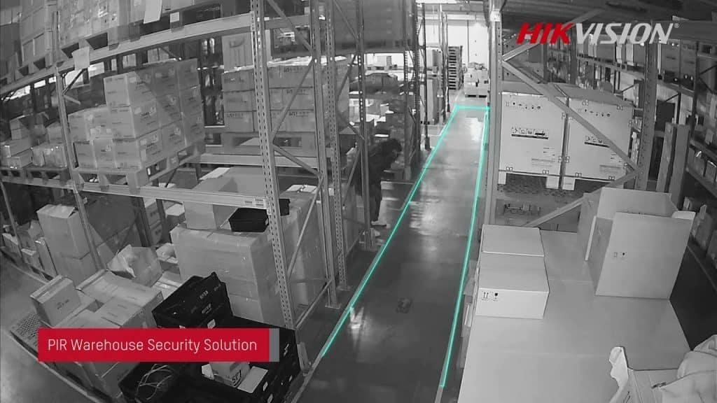 Hikvision warehouse camera