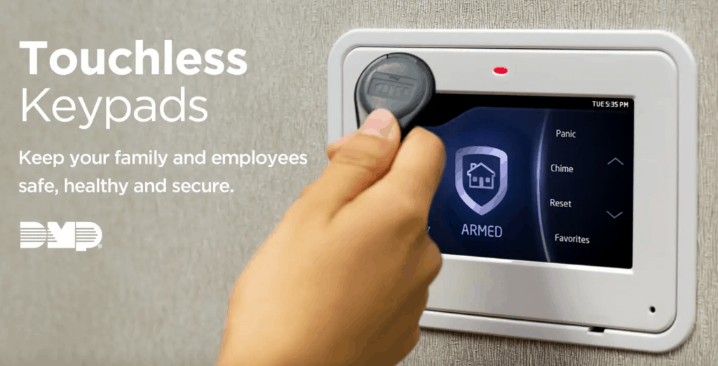 dmp touchless keypad