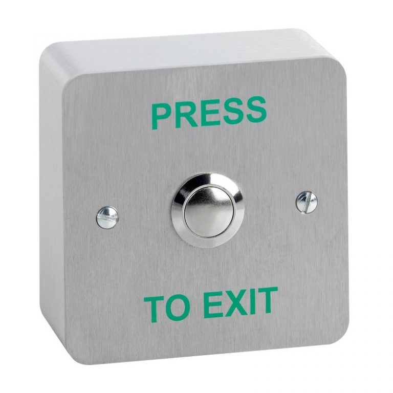 push-to-exit button