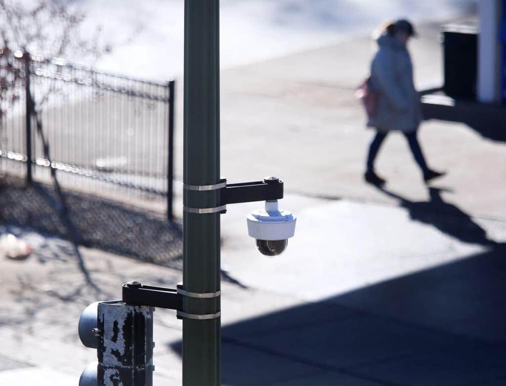 sidewalk security camera