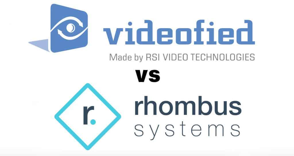 videofied vs rhombus