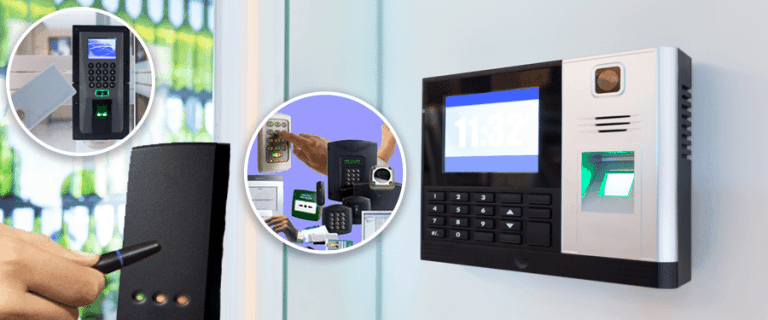 Types of door entry systems.
