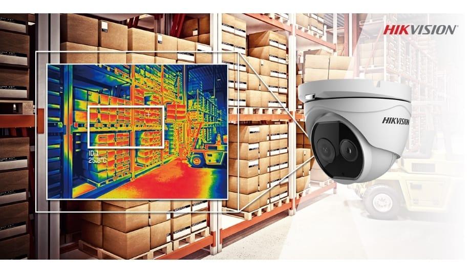 Warehouse security camera.