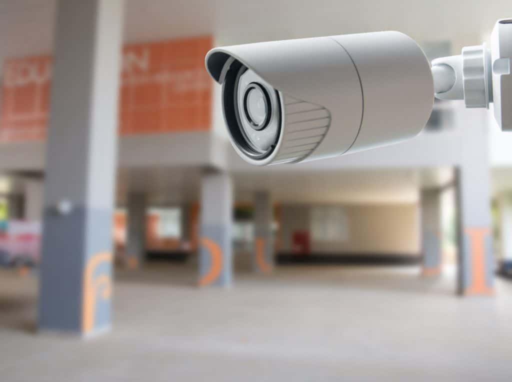School security camera.