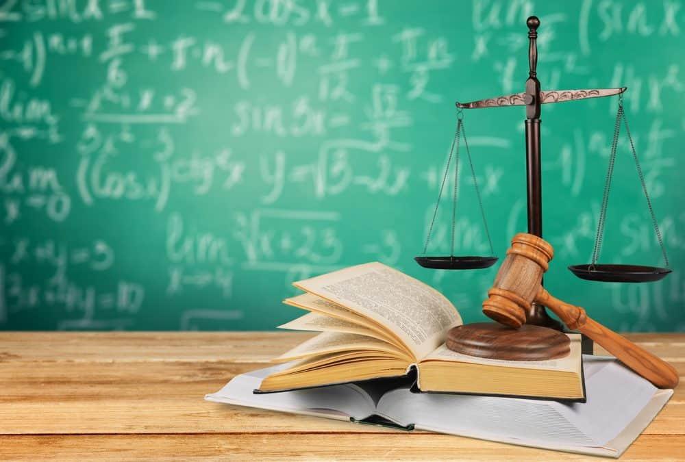 School board law justice scale.