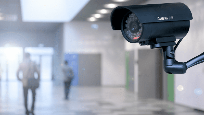 where to place security cameras